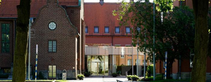 Fasad på Kulturkvarteret